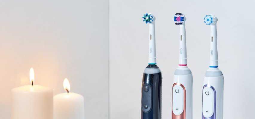 'электрические зубные щетки oral-b'